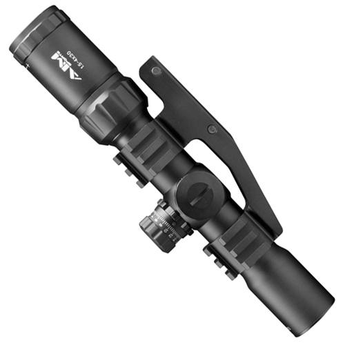 1.5-4x30 Tri Illuminated CQB Scope