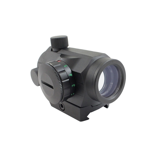 Dual Illuminated 1x20mm picatinny Micro Dot with Co-Witness Riser