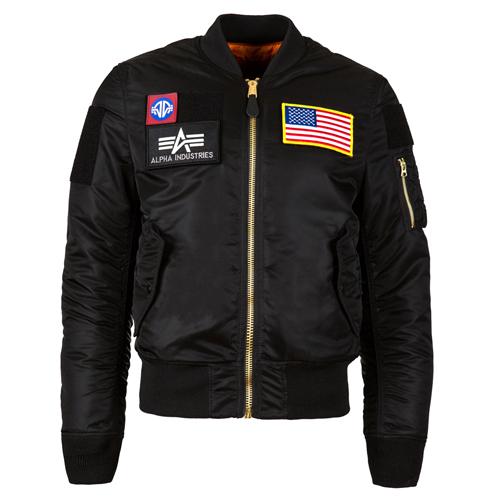 MA-1 Flex Slim Fit Flight Jacket