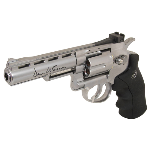 MB-S CO2 4 Inch Silver US Airsoft Revolver