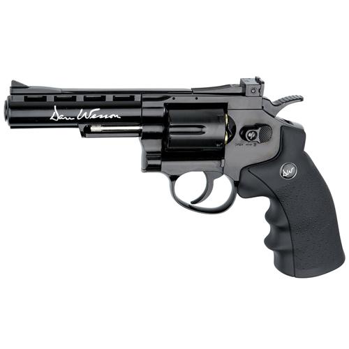 Dan Wesson 4-Inch Black 4.5mm BB Revolver
