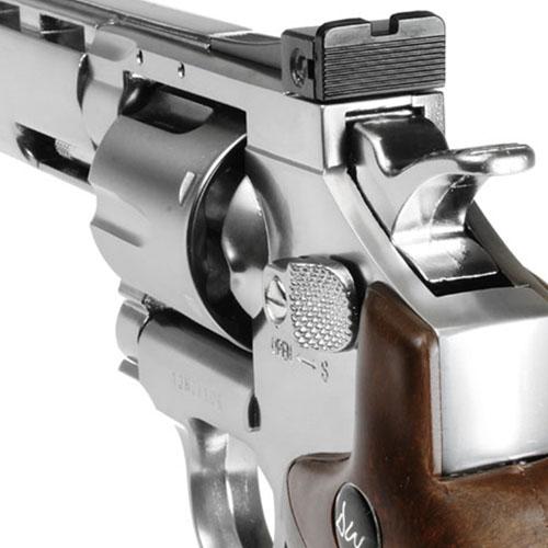 Silver 8 Inch CO2 Airgun