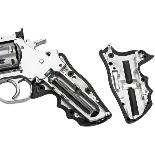 Dan Wesson 715 Full Metal Pellet Revolver - Silver