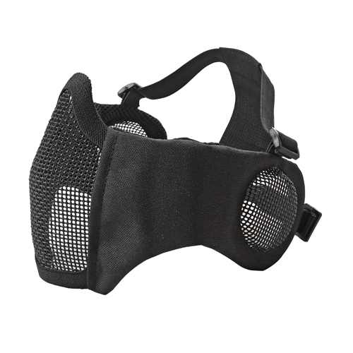 ASG Metal Mesh Mask with Cheek Pad and Ear Protection