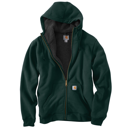 Carhartt Collinston Brushed Fleece Sherpa-Lined Sweatshirt