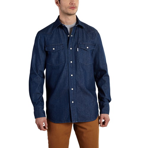 Carhartt Ironwood Denim Work Shirt