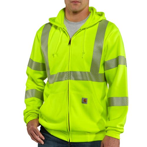 High-Visibility Zip Class 3 Sweatshirt