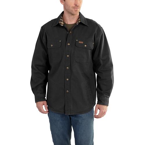 Weathered Canvas Jacket Shirt