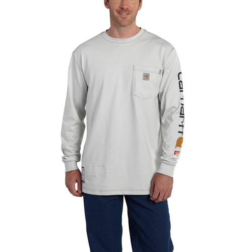 Flame-Resistant Force Graphic Long-Sleeve T-Shirt
