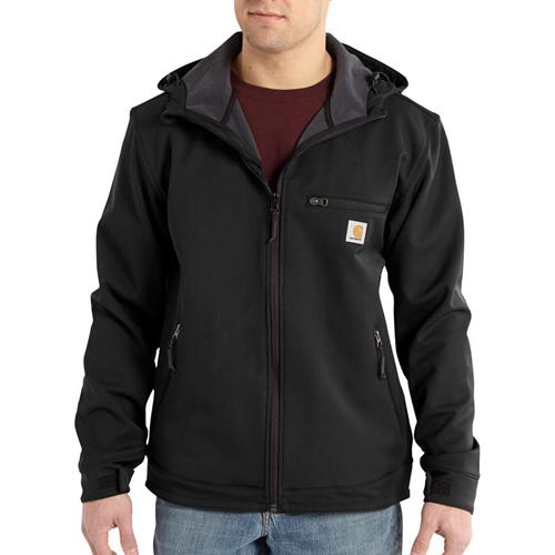 Crowley Nylon Hooded Jacket