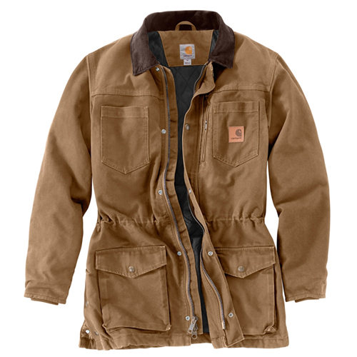 Carhartt Brushed Poly Quilt Lined Canyon Coat