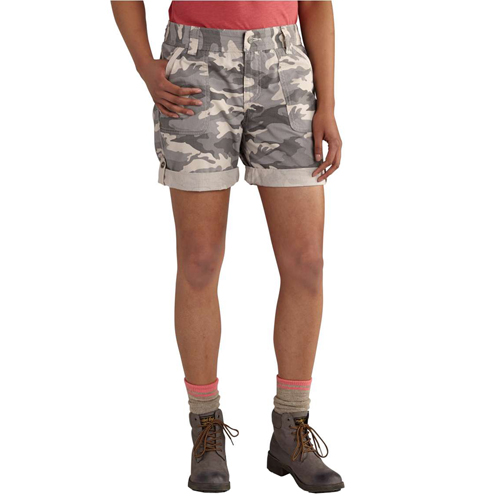 Women's Relaxed Fit EL Paso Camo Shorts