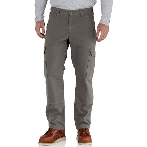 Ripstop Flannel-Lined Cargo Work Pant