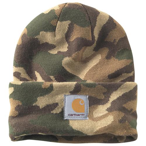 Camo Watch Hat