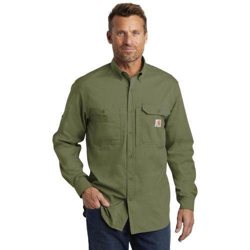 Carhartt Force Ridgefield Solid Long-Sleeve Shirt