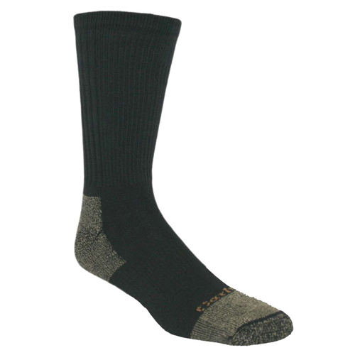 All-Season Cotton Steel Toes Boot Socks
