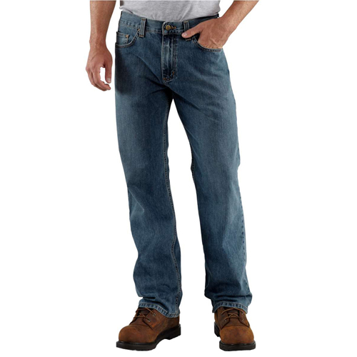 Loose/Original Fit Straight Leg Jeans