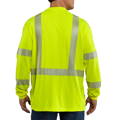 Carhartt Flame-Resistant High Visibility Long Sleeve Shirt