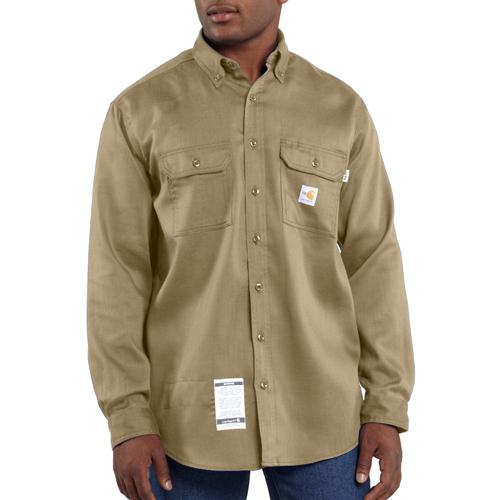 Flame-Resistant Lightweight Twill Shirt
