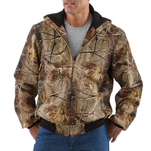 Work Camouflage Thermal Lined Active Jacket
