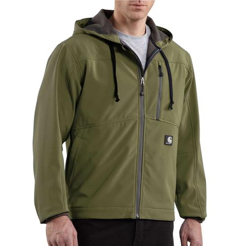 Carharrt Soft Shell Hooded Jacket