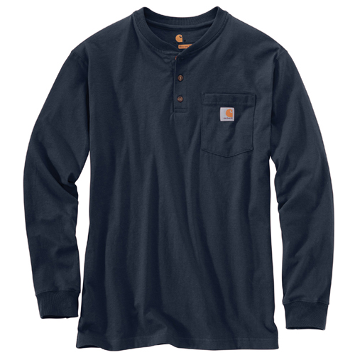Henley Workwear Long Sleeve T-Shirt