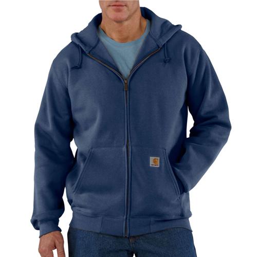 Heavyweight Zip Front Hooded Sweatshirt