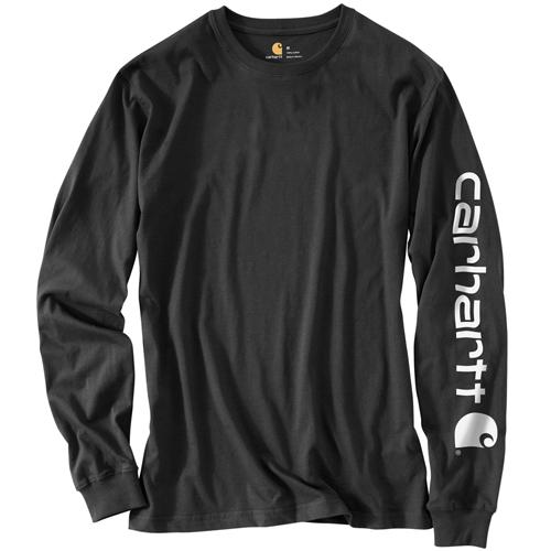 Carhartt Mens Workwear Long Sleeve Graphic Logo T-Shirt