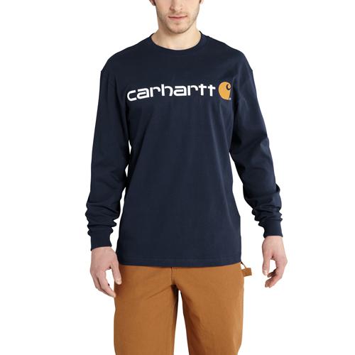 Carhartt Long-Sleeve Logo T-Shirt