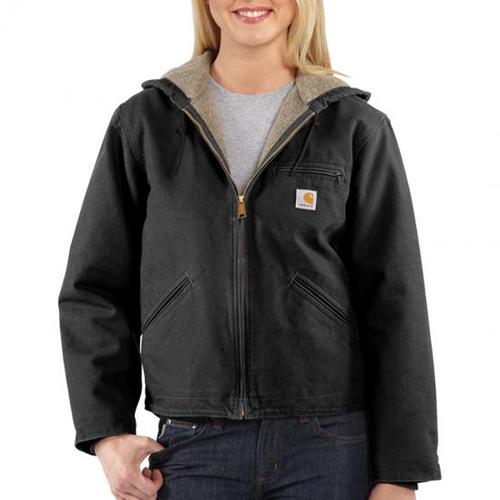 Sandstone Sierra Sherpa-Lined Women's Jacket