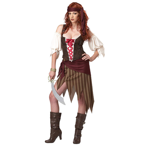 California Womens Buccaneer Beauty Costumes