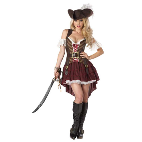 California Women's Sexy Swashbuckler Costume