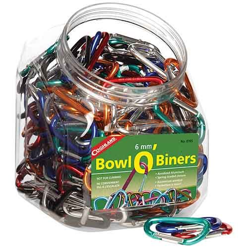 6mm Bowl O' Biners - 1 Biner
