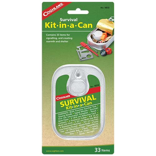Survival Kit-In-A-Can