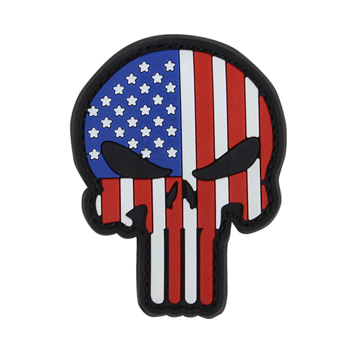 PVC Punisher Patch