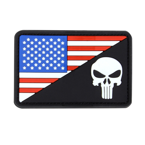 US Morale Flag Patches