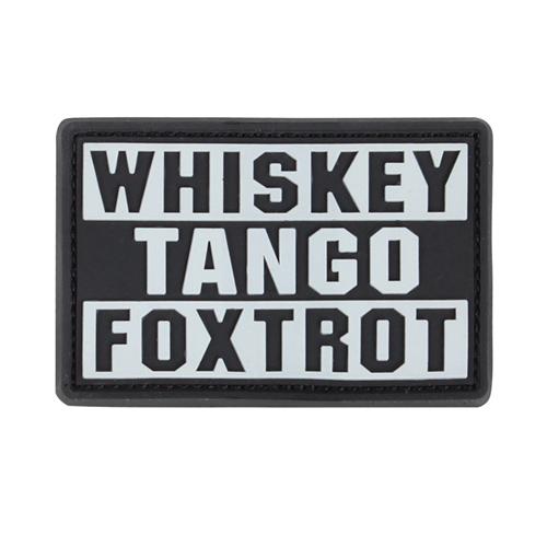 Whiskey Tango Foxtrot Patch