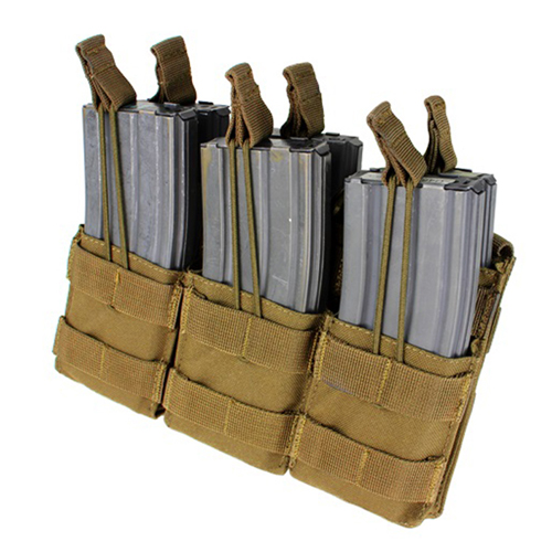 M4 Triple Open-Top Mag Pouch