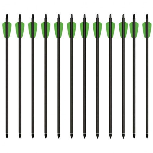 Cheap Shot 130 Carbon Bolts - 12 Pack