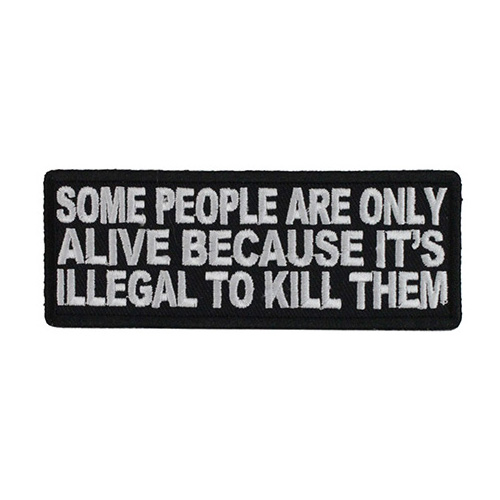 Some People Are Only Alive Patch
