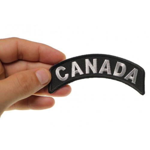 Canada Rocker Embroidered Patch