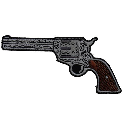 6 Shooter gun Left Patch - 5x2.5 Inch