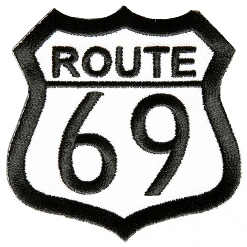 Route 69 Jacket and Vest Patch - 2.5x2.5 Inch