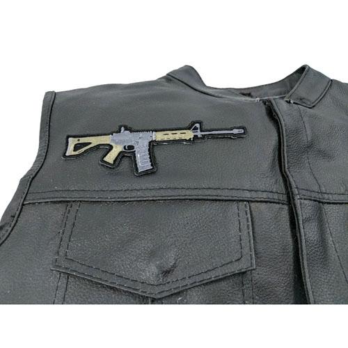 AR 15 Assault Rifle Patch 6x2 Inch