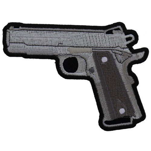 9mm Gun Patch - 4x3 Inch