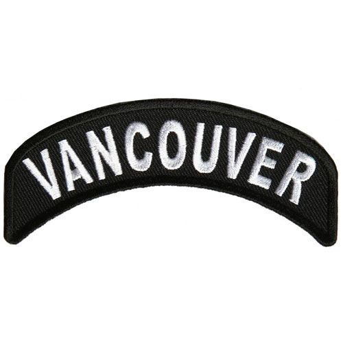 Vancouver City Patch 4x1.75 Inch