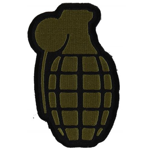 Grenade Patch In OD Green - 2.25x3.5 Inch