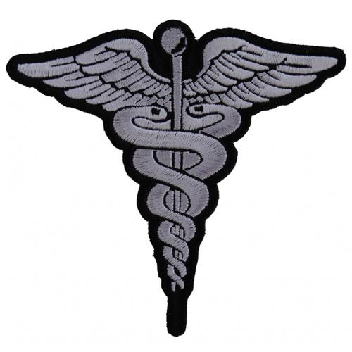 BW Medic Symbol Patch - 4x3.8 Inch