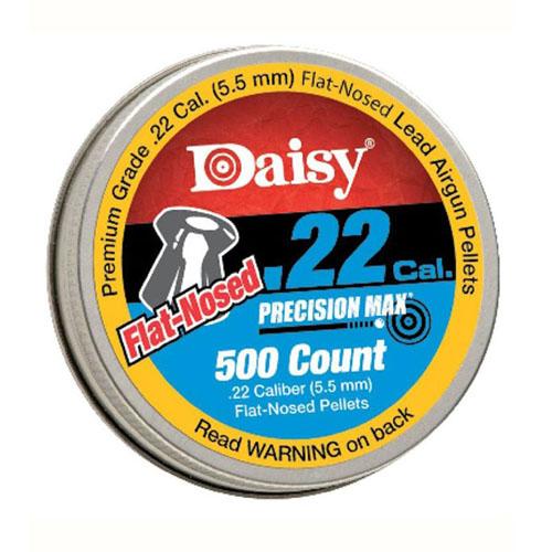 .22 Cal. Flat Pellets - 500 Tin