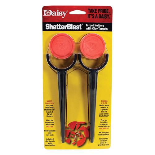 Daisy Shatterblast Targets w/Holders